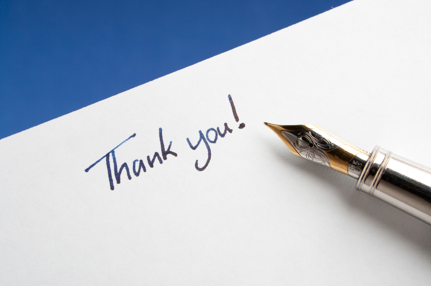 Writing The Best Thank You Letter After An Interview  Match A Resident